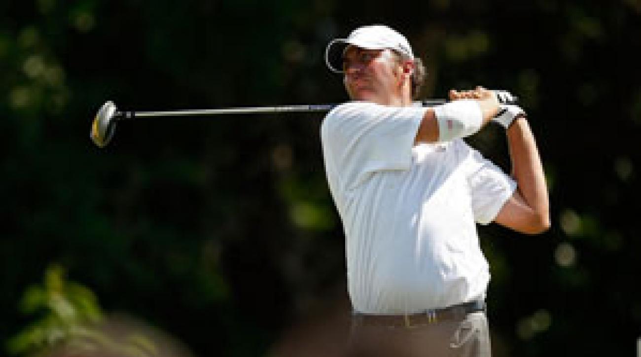 Bo Van Pelt made three birdies and two bogeys on Saturday.