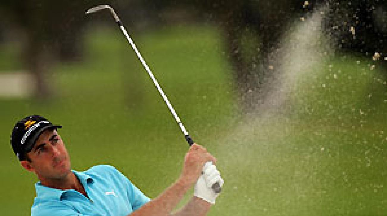 Geoff Ogilvy has not made a bogey this week.