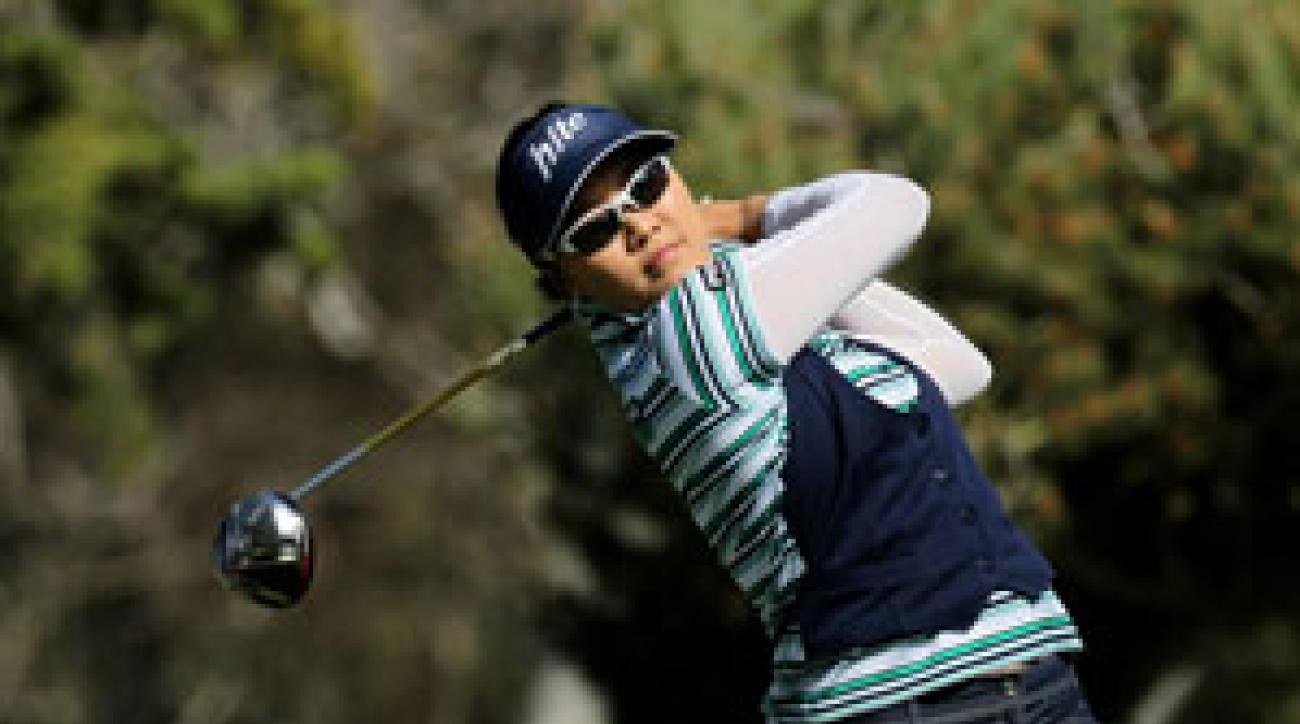 Hee Kyung Seo made four birdies and a bogey on Saturday.