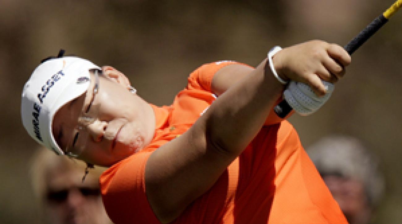 Jiyai Shin shot a 6-under 66 on Saturday.