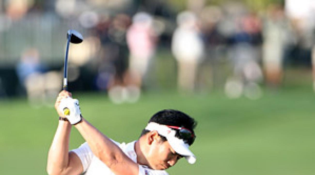 Y.E. Yang shot a two-under 68 in the first round of the Honda Classic.
