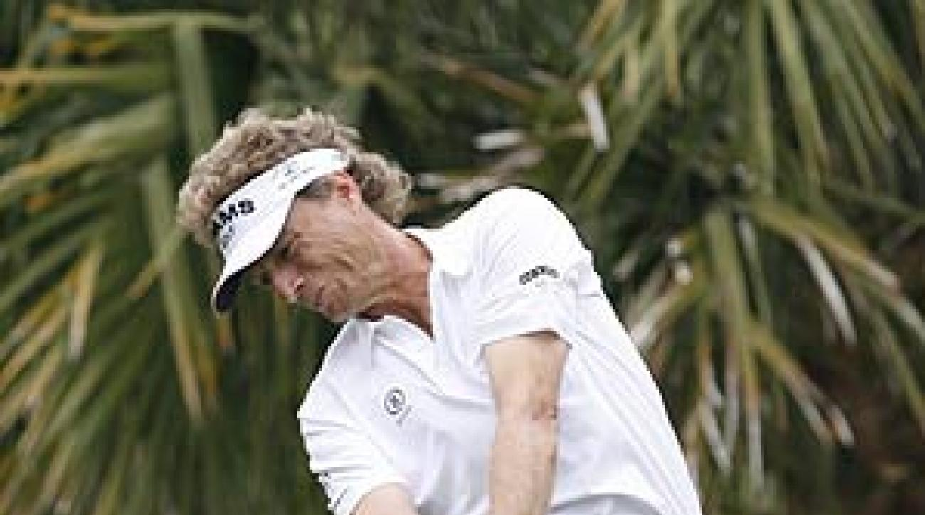 This was Langer's third victory in 11 career starts on the 50-and-over tour.