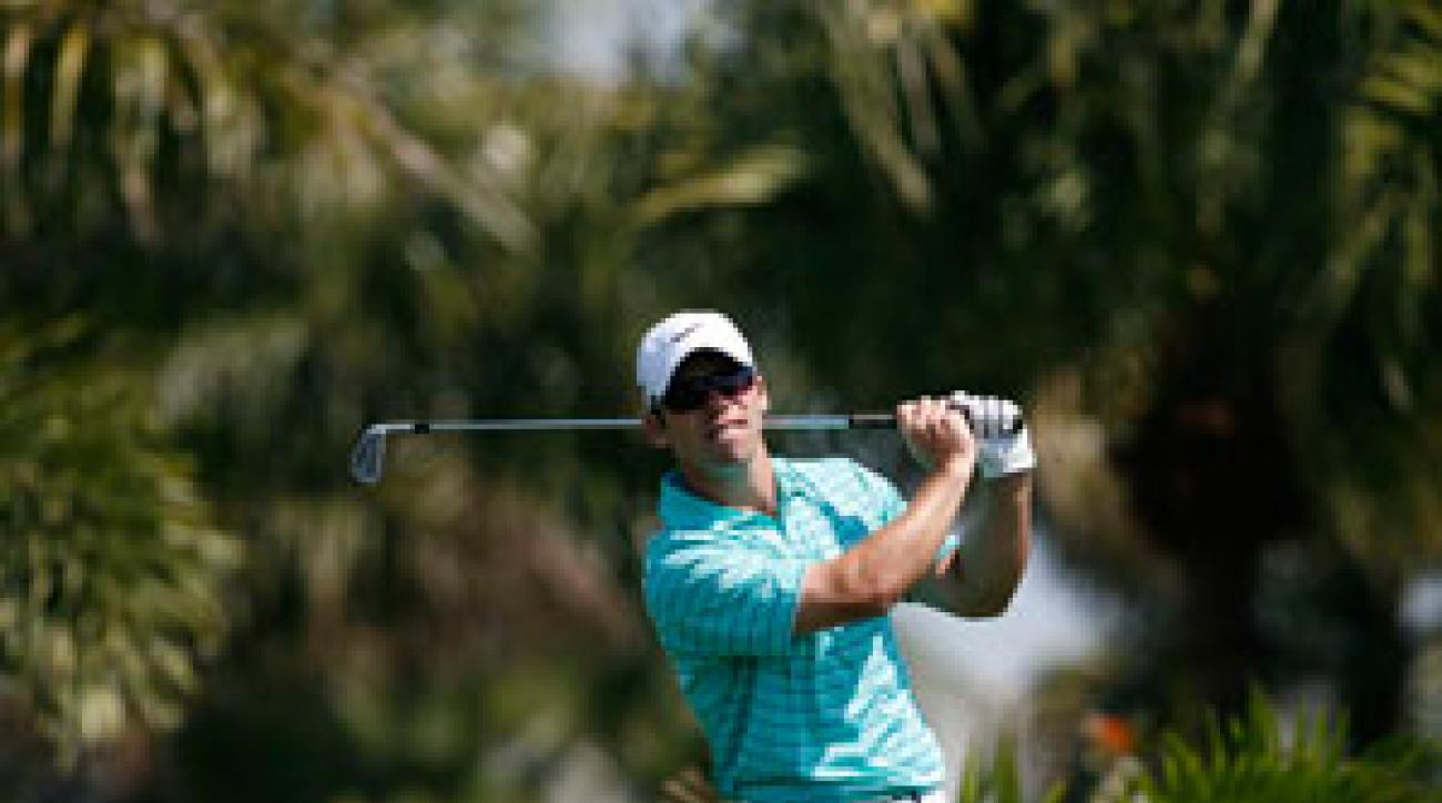 Paul Casey has four top 10s in four starts this season.