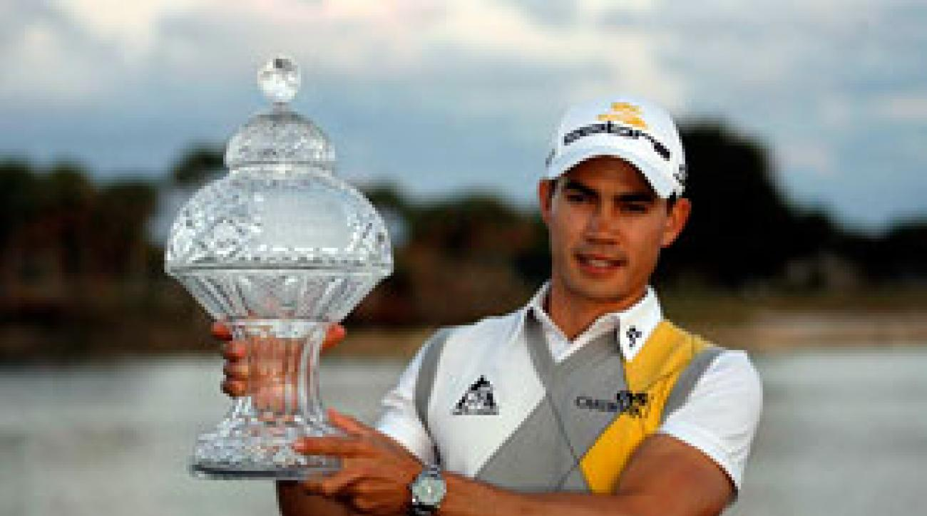Camilo Villegas won his third career title on Sunday.