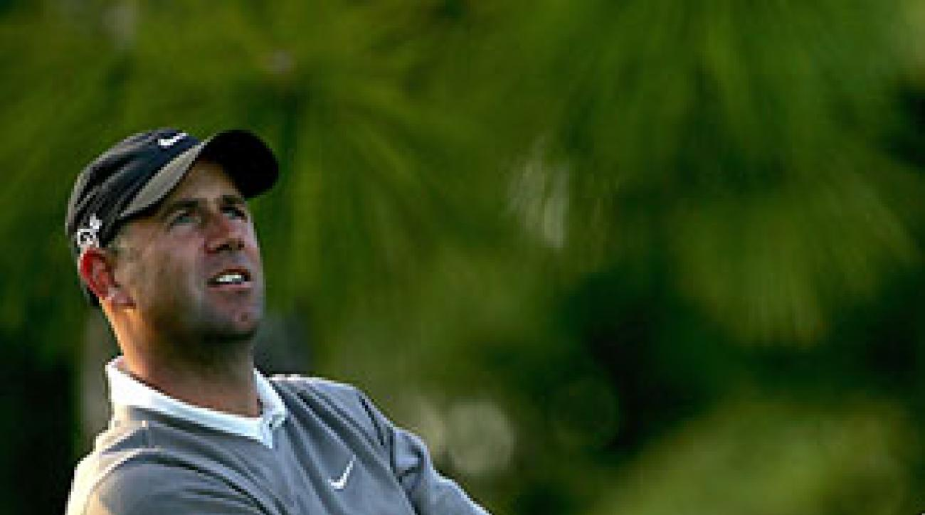 Stewart Cink finished second to Tiger Woods at the WGC Match Play.