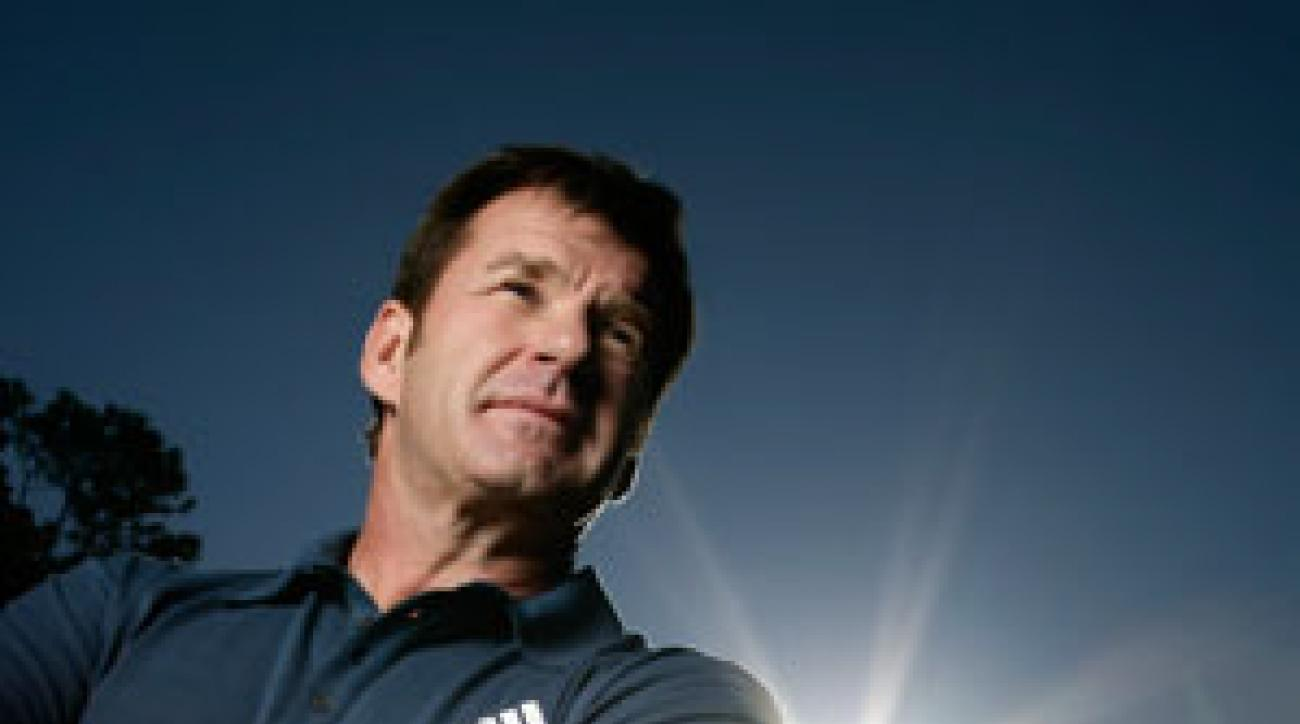 Nick Faldo is a broadcaster for CBS and Golf Channel.
