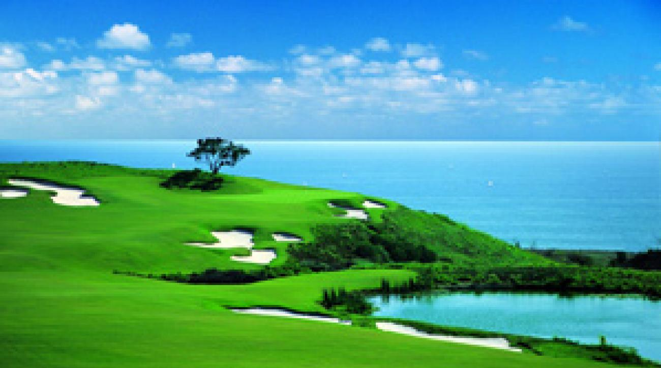The Ocean North Course at the Resort at Pelican Hill.