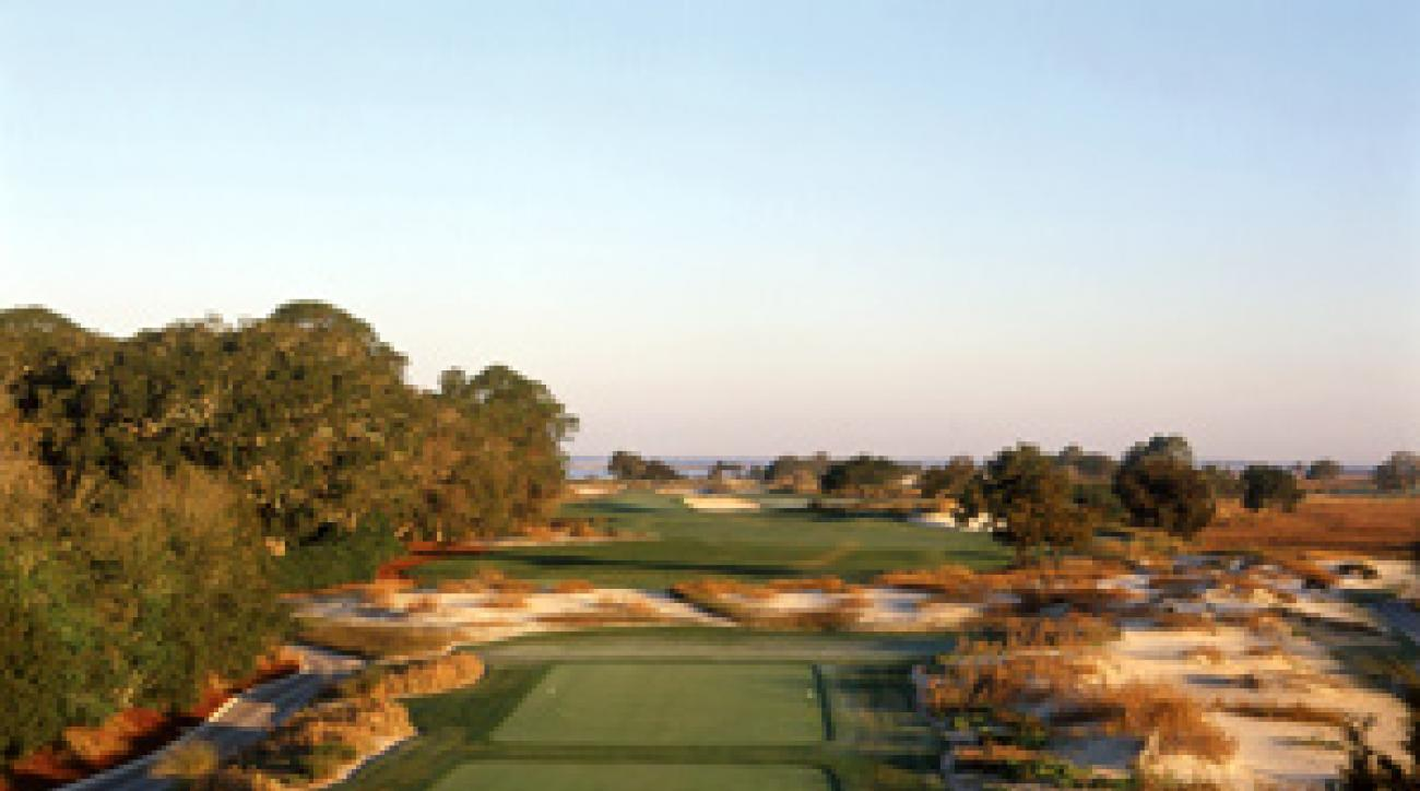 The Seaside Course at Sea Island Resort.