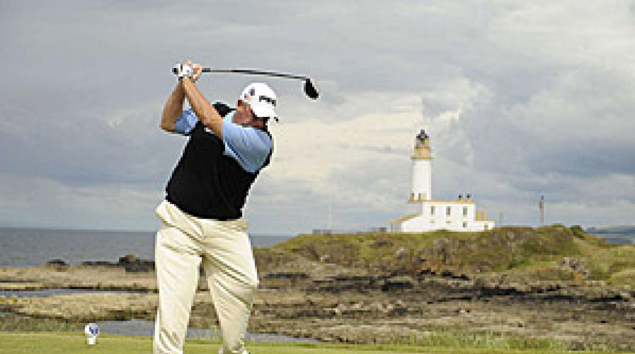 Mark Calcavecchia also played well at Turnberry, finishing tied for 27th.