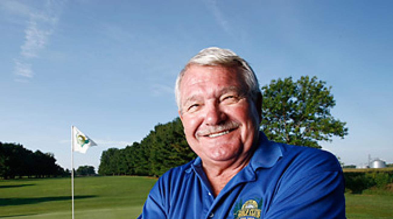 GREEN PARTY: Since hitting the jackpot in 2011, Markham, 66, has breathed new life into La Porte City Golf Club.