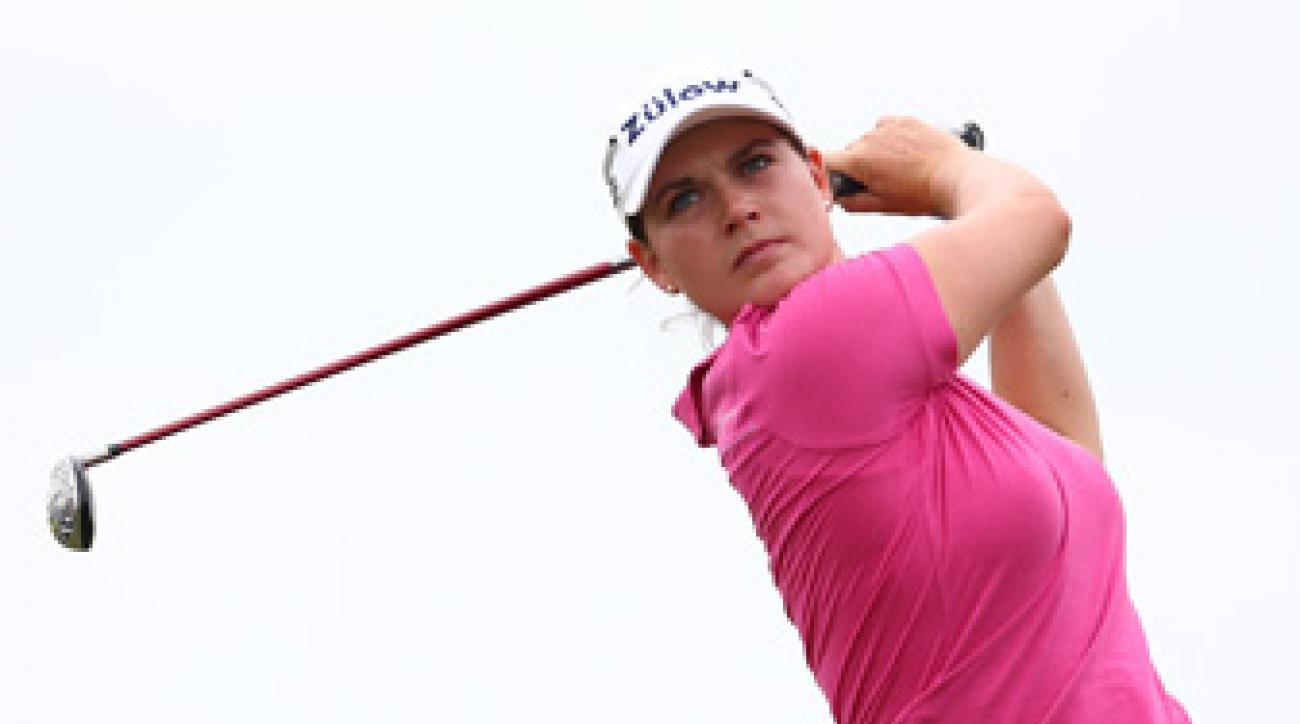 Caroline Masson bogeyed three of the last four holes.