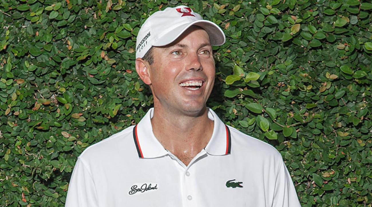 Kuchar has six career PGA Tour victories.