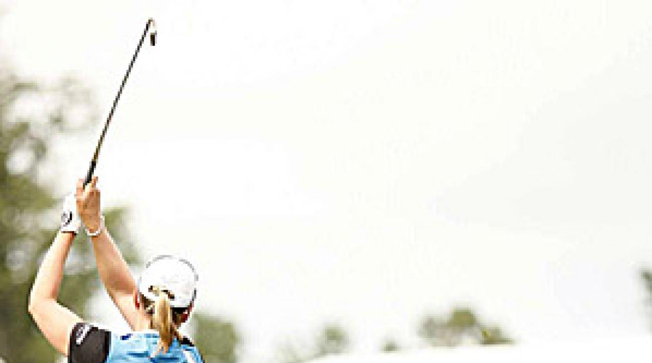 """""""I saved everything today,"""" Sorenstam said. """"Even the last hole."""""""