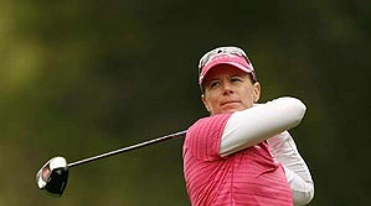 With three wins already this year, Sorenstam proved