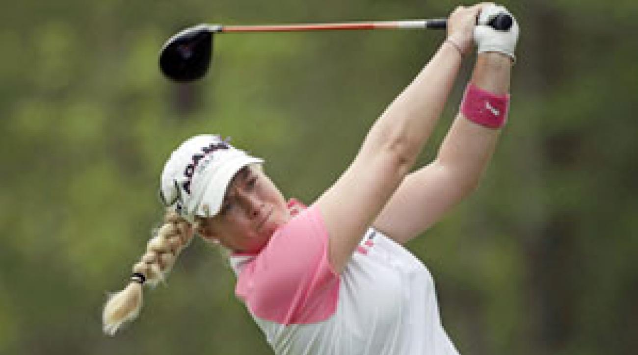 Brittany Lincicome lost in a playoff last week at the Bell Micro LPGA Classic.