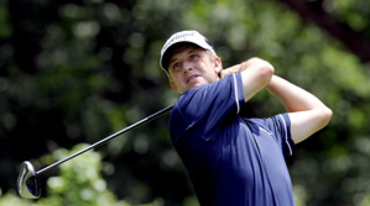 David Toms needs to play well this week to make the Tour Championship and Presidents Cup team.