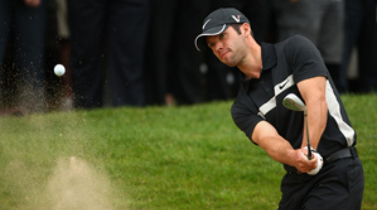 Paul Casey made two eagles in the second round.