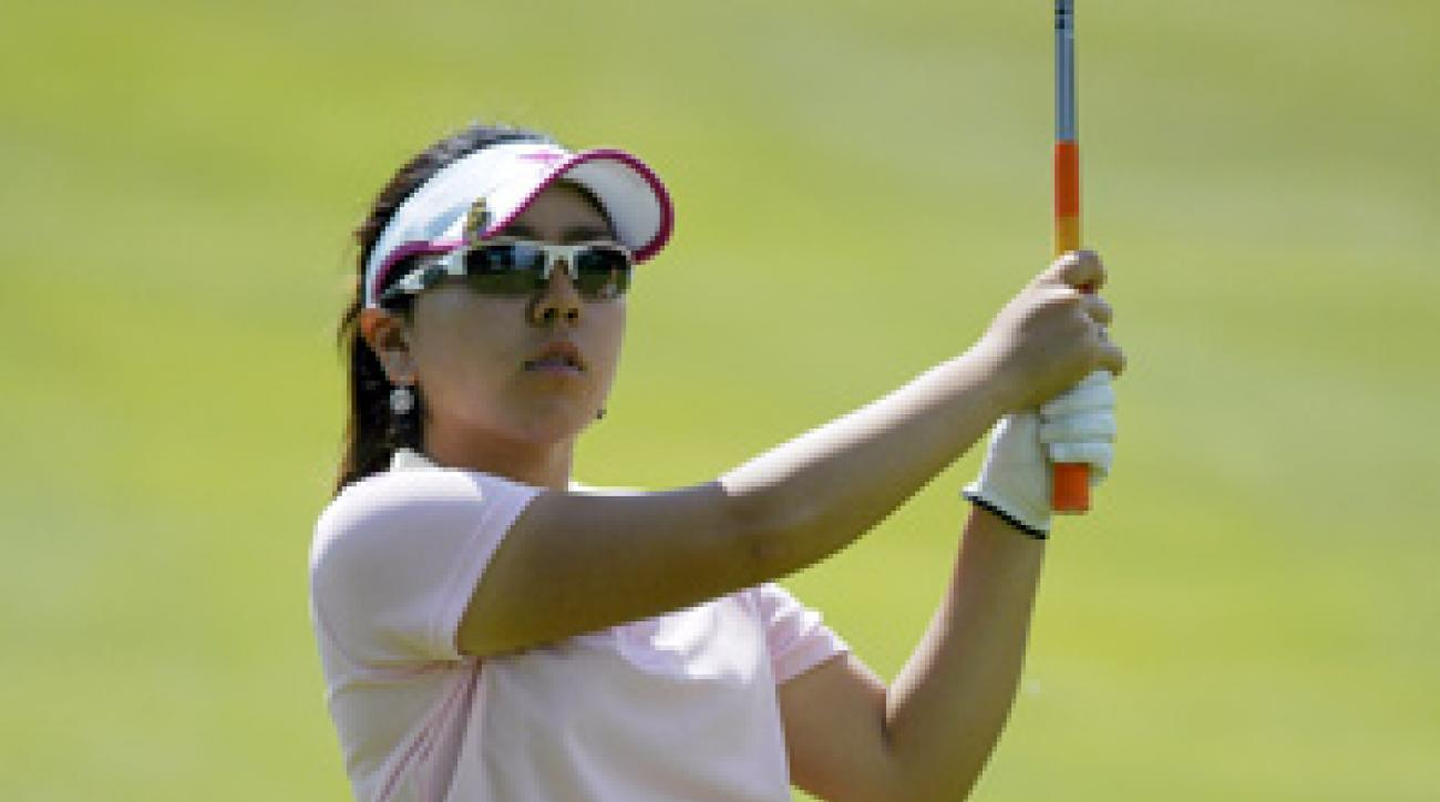 Mika Miyazato shot a 10-under 62 on Saturday.