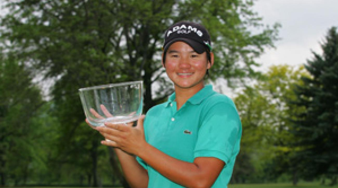 Yani Tseng held off Paula Creamer to win the Corning Classic.
