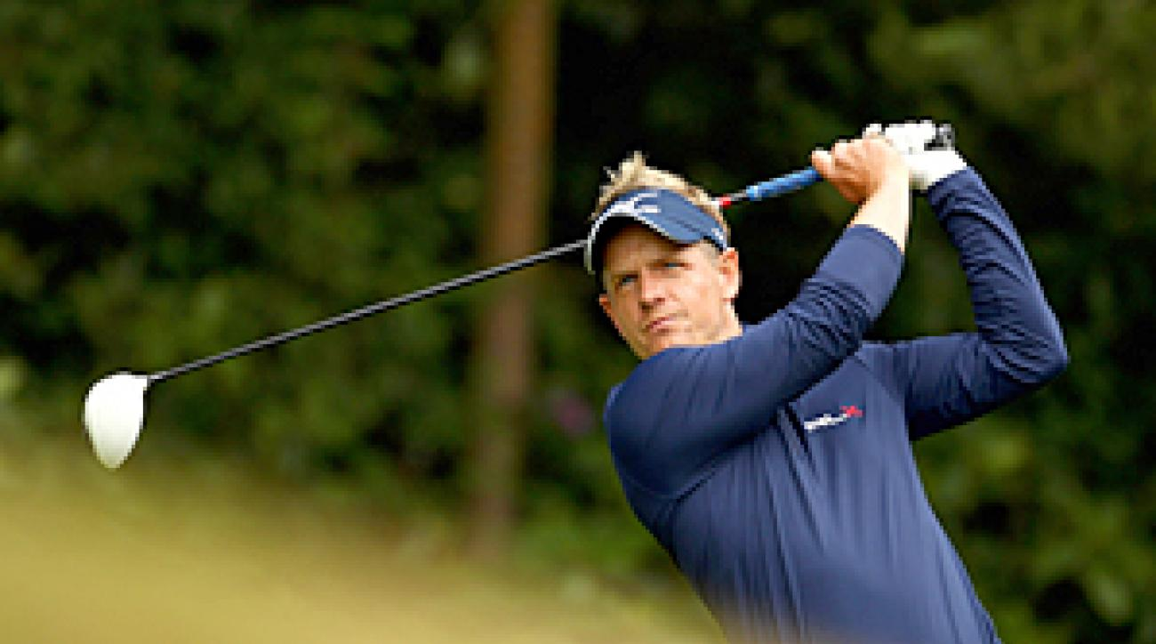 Luke Donald is currently ranked No. 1 in the world.