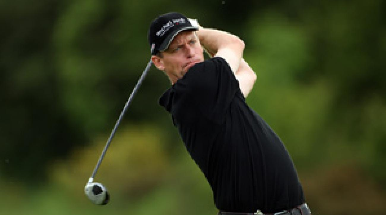 Anders Hansen shot a 65 on Thursday.