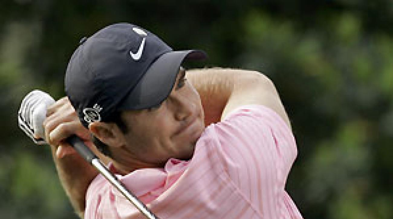 Trevor Immelman finished at five over, and he missed his second cut since winning the Masters.
