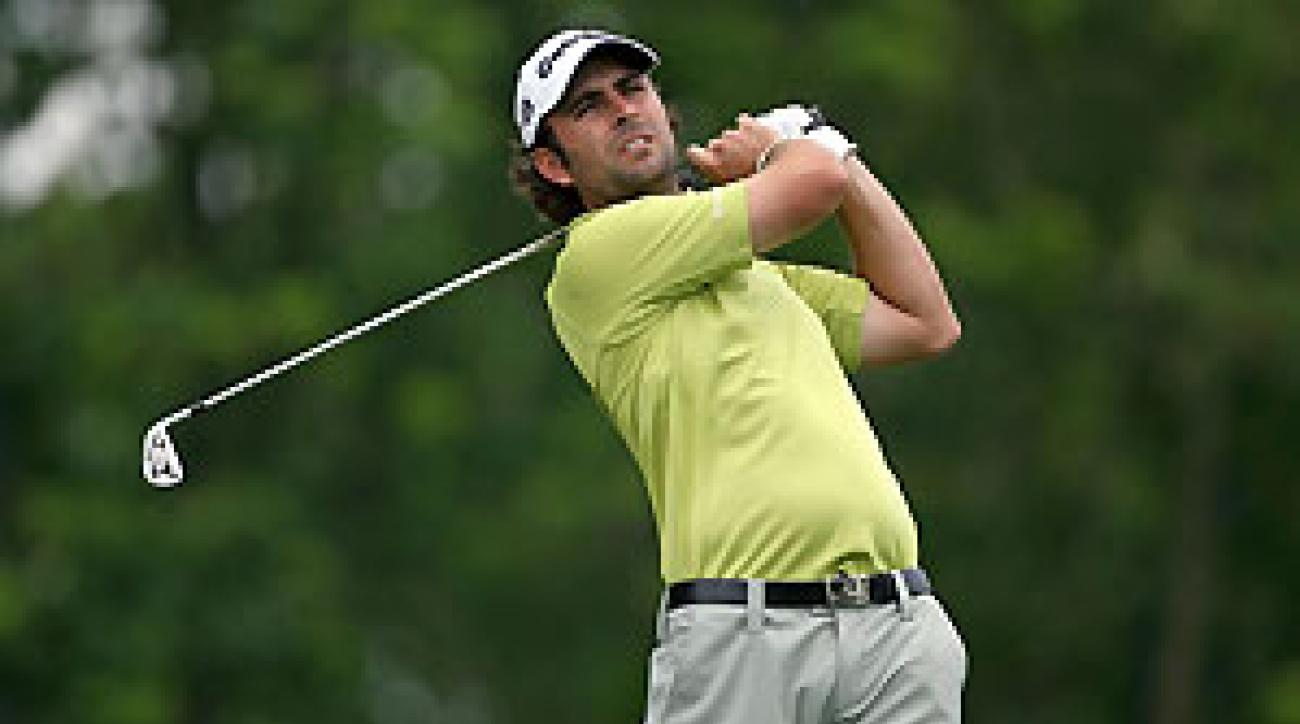 Mathew Goggin will try to win his first PGA Tour event on Sunday.