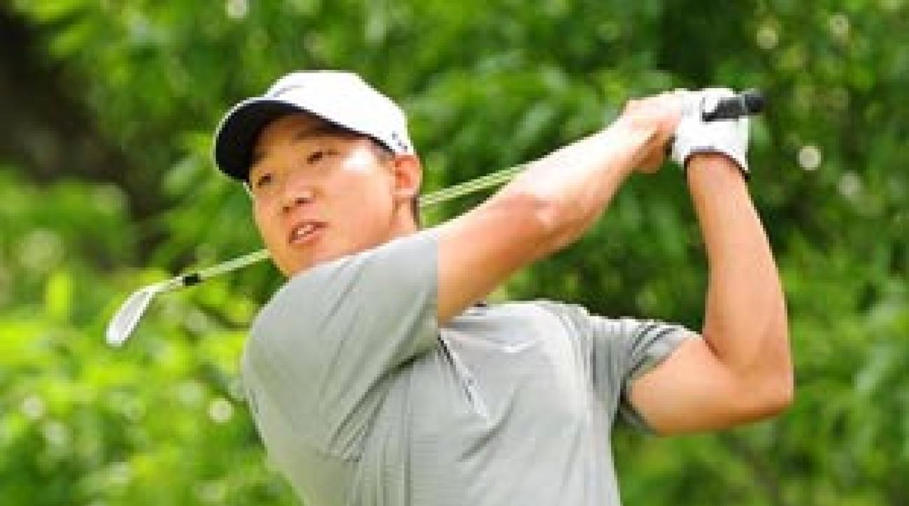 Anthony Kim, 22, has explosive skills rarely seen in his age bracket.