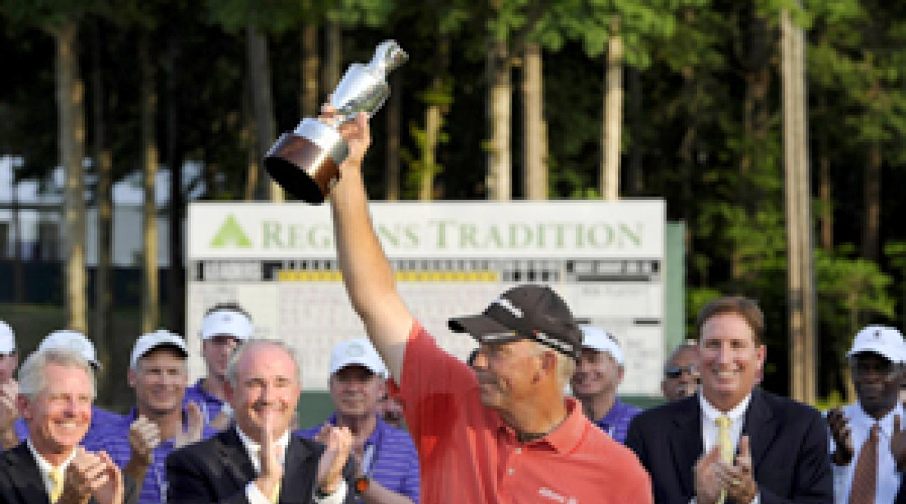 Tom Lehman won his third Champions event of the season on Sunday.