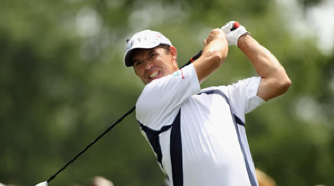 Padraig Harrington finished tied for ninth.