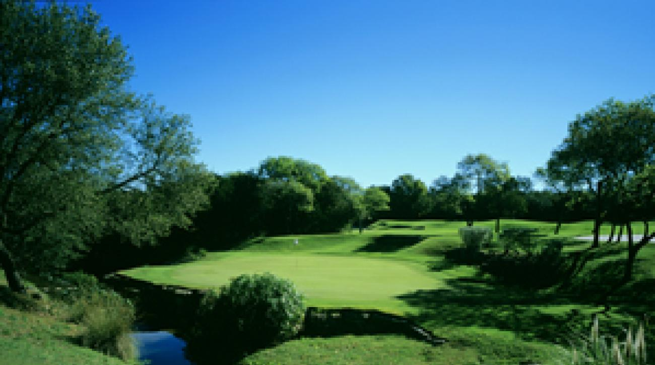 The Fazio Foothills course at Barton Creek.