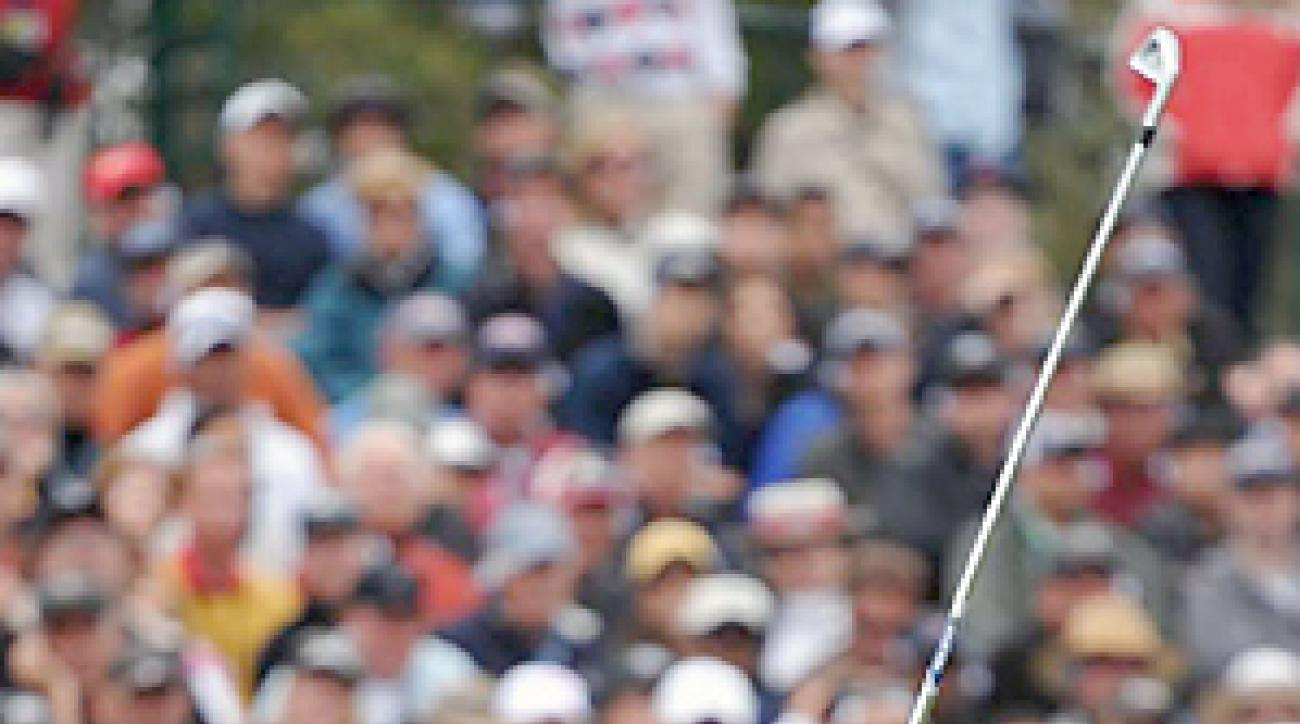 Graeme McDowell will attempt to defend his U.S. Open title next month at Congressional.