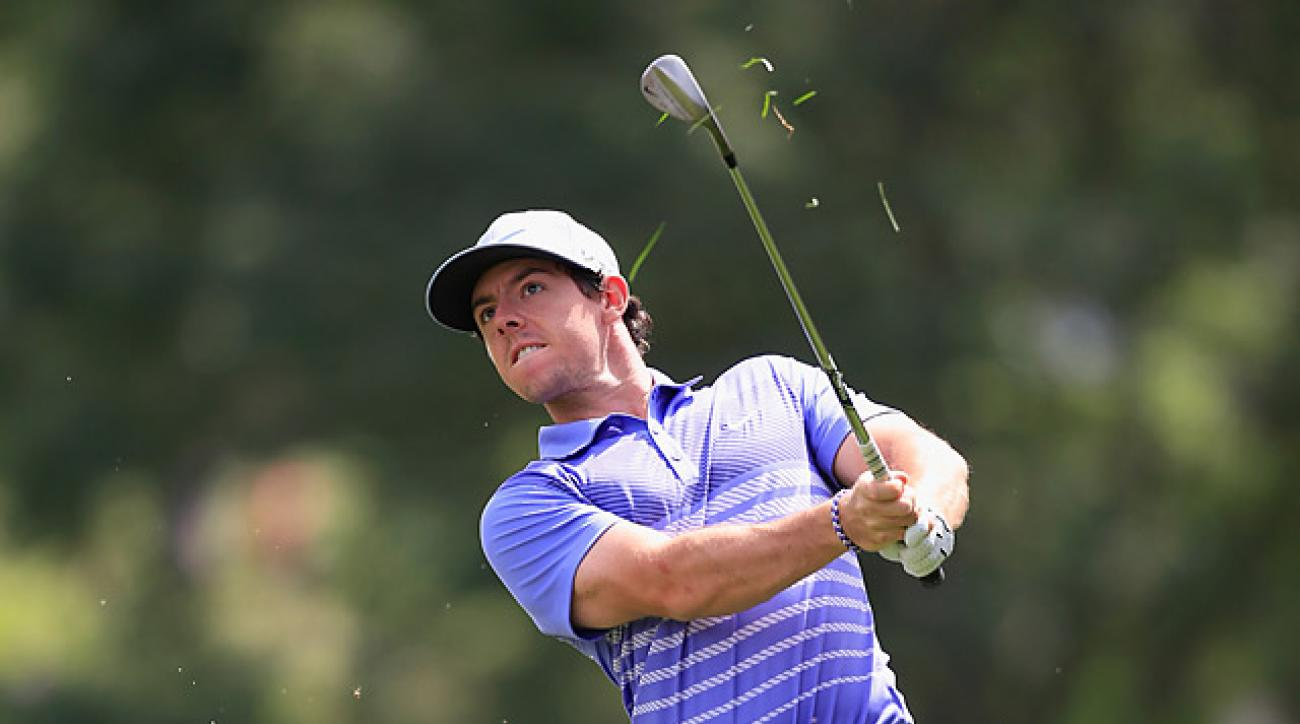 McIlroy got to five under before giving up two shots late in his round.