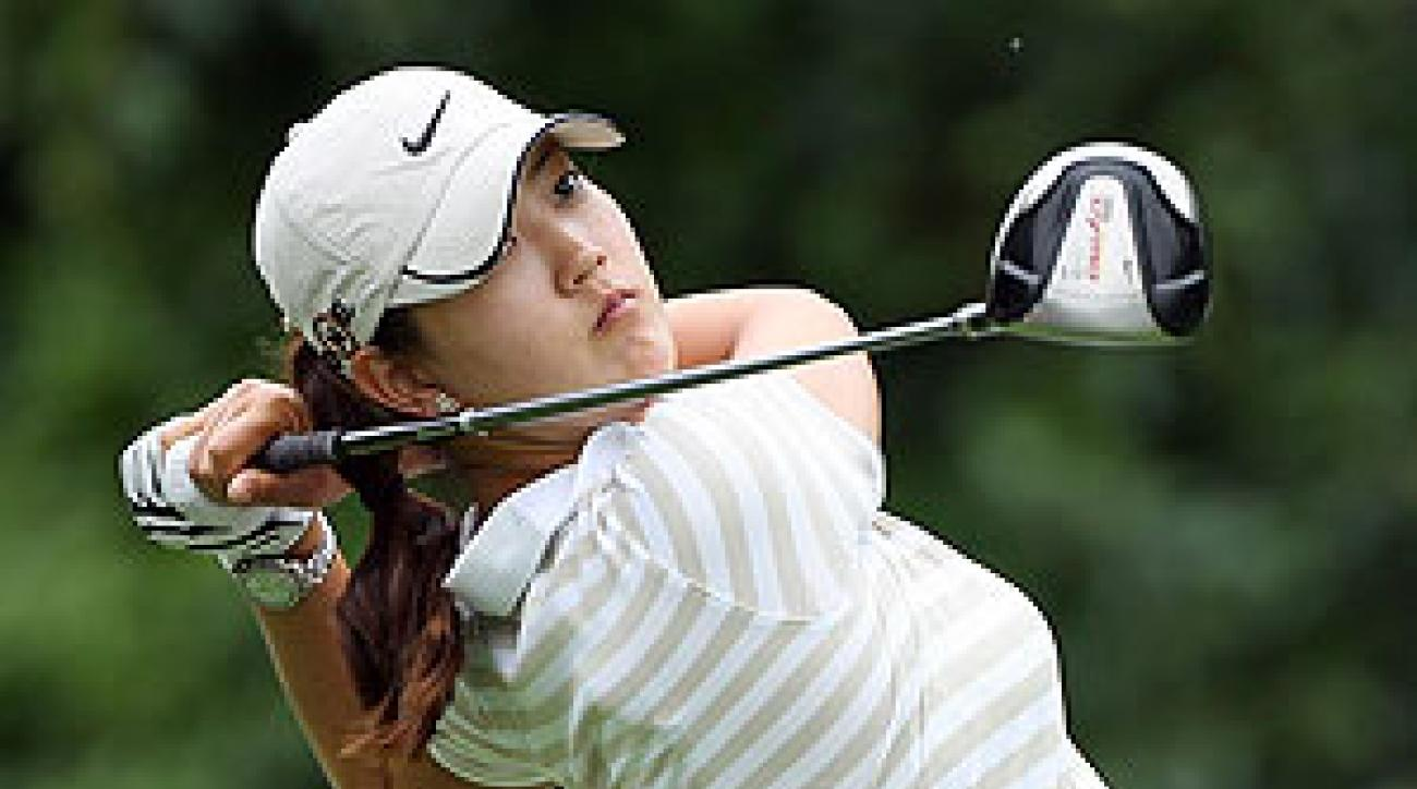 Michelle Wie shot a two-under 70 on Thursday.