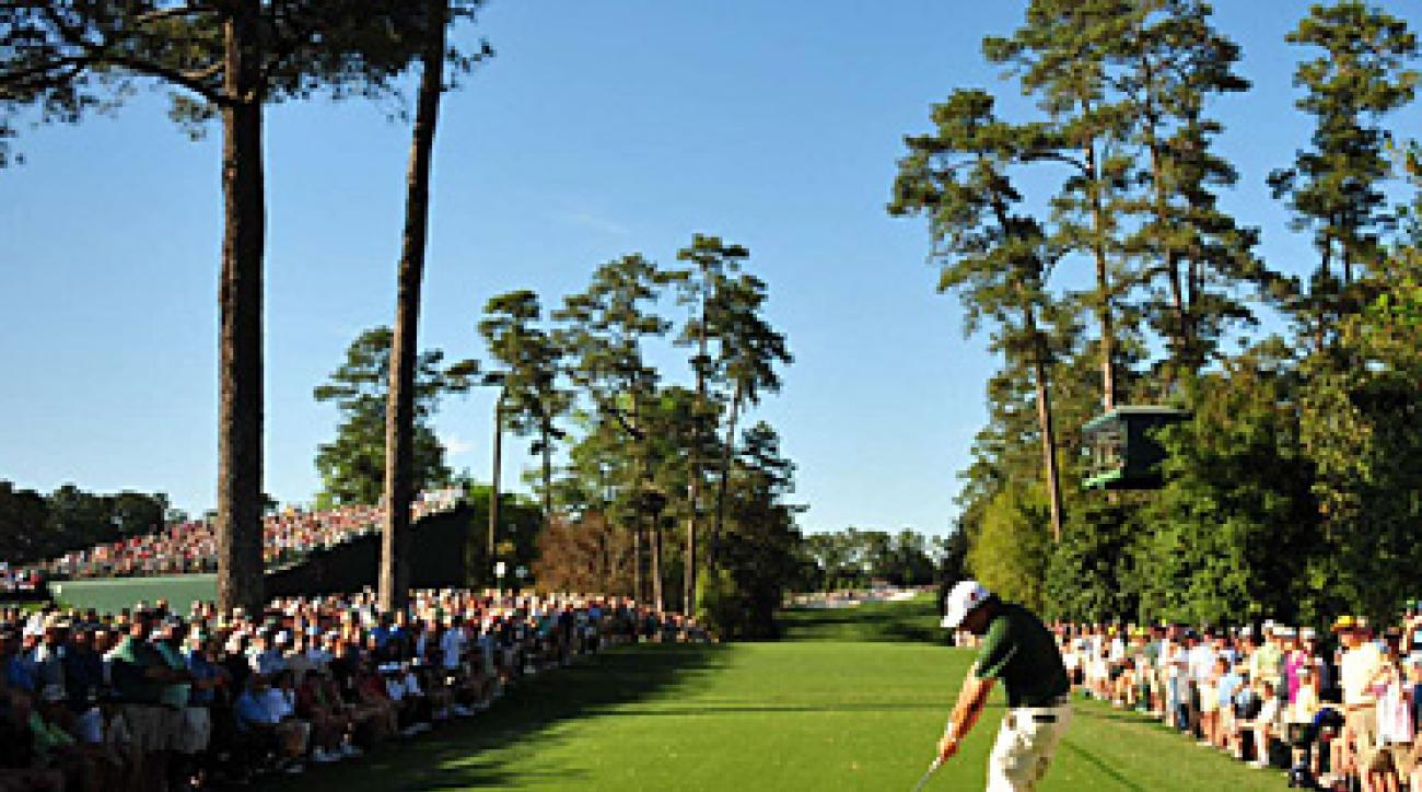 The tee shot at the 18th became more daunting when the tee was moved back 55 yards in 2002.