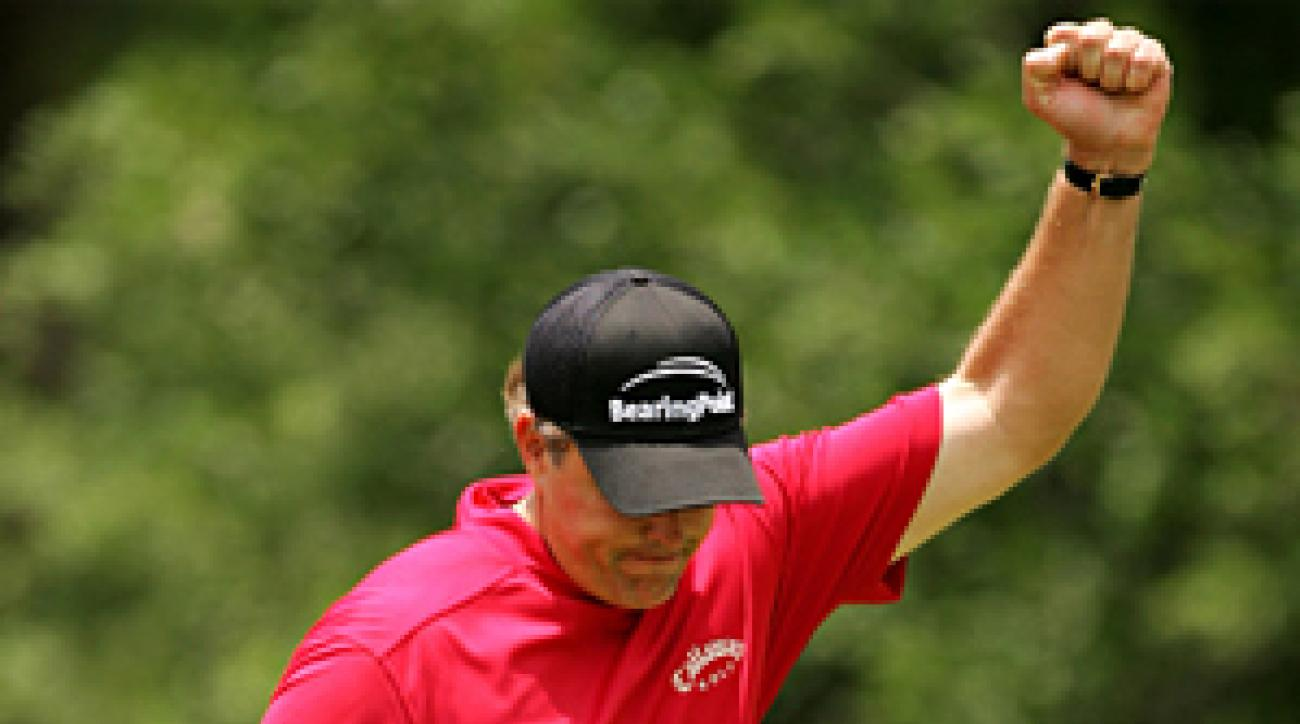 Phil Mickelson's best finish at the Players was a tie for third in 2004.