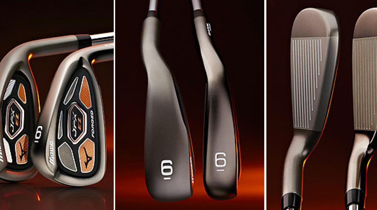 With a wider sole, the JPX-EZ offers a lower, deeper CG and a higher initial launch than the JPX-EZ Forged. In addition, JPX-EZ has a thicker topline and more offset than the JPX-EZ Forged.