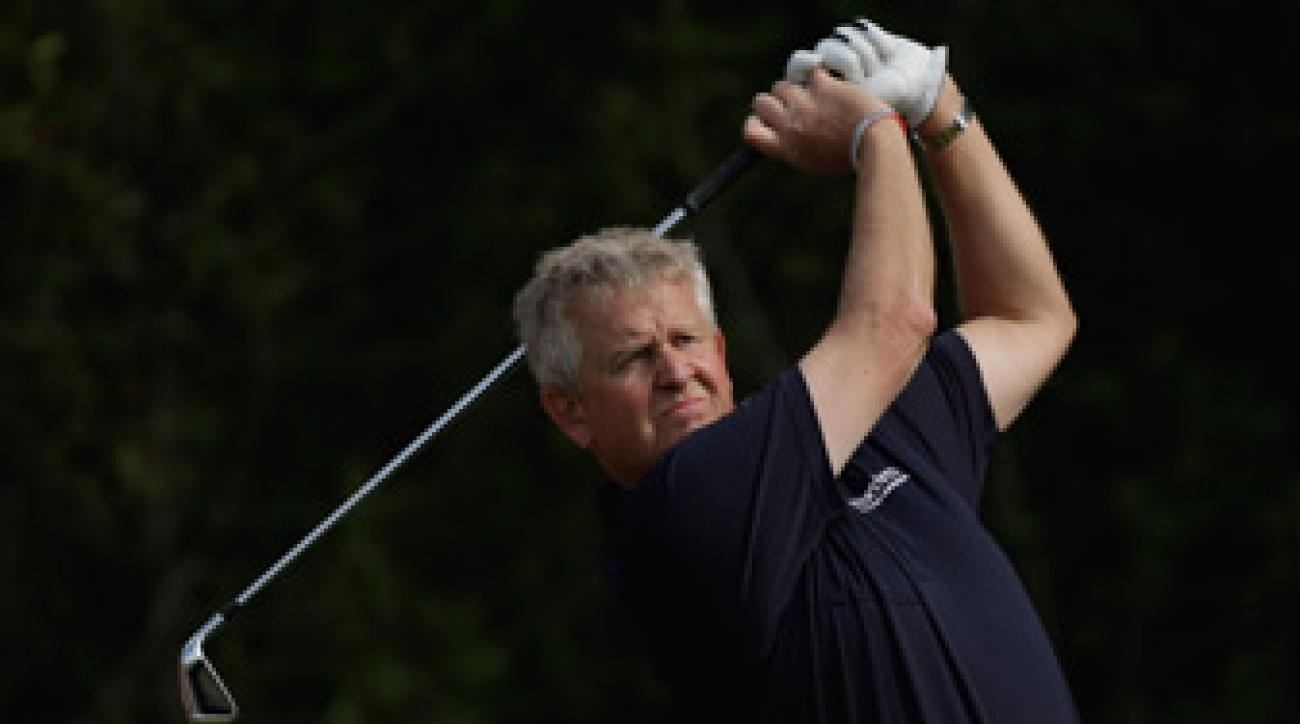 Colin Montgomerie captained the European Ryder Cup team to victory in 2010.