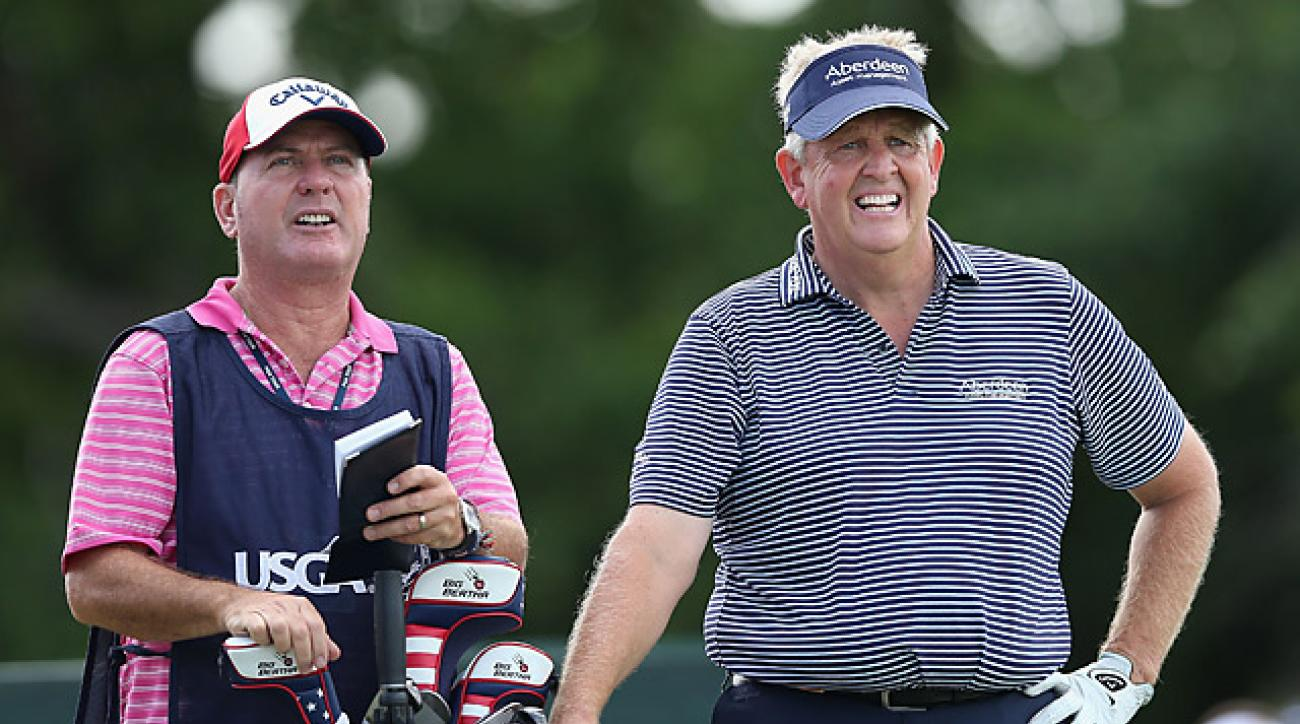 Colin Montgomerie won the Senior PGA Championship in May.