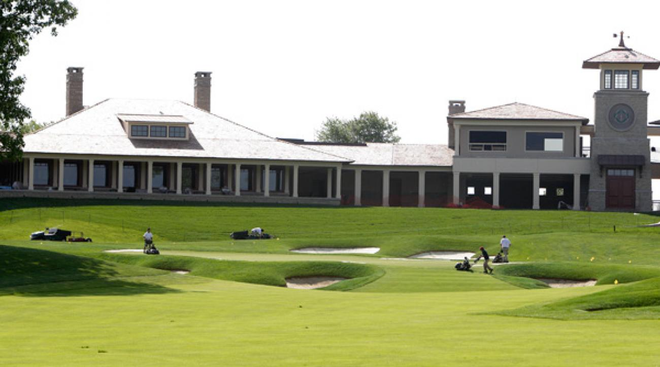 The new clubhouse at Muirfield Village replaced the original one built in 1976.