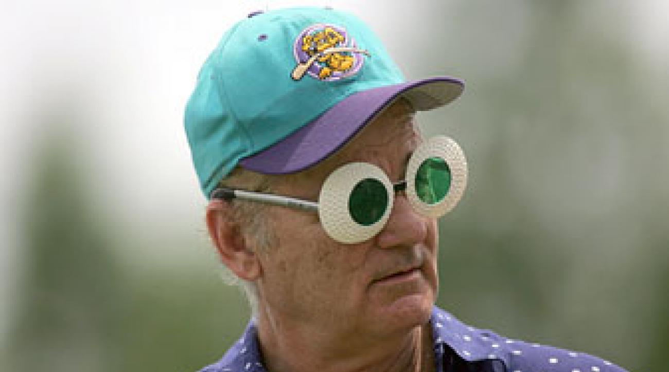 Bill Murray at the Champions Tour's 2009 Outback Pro-am.
