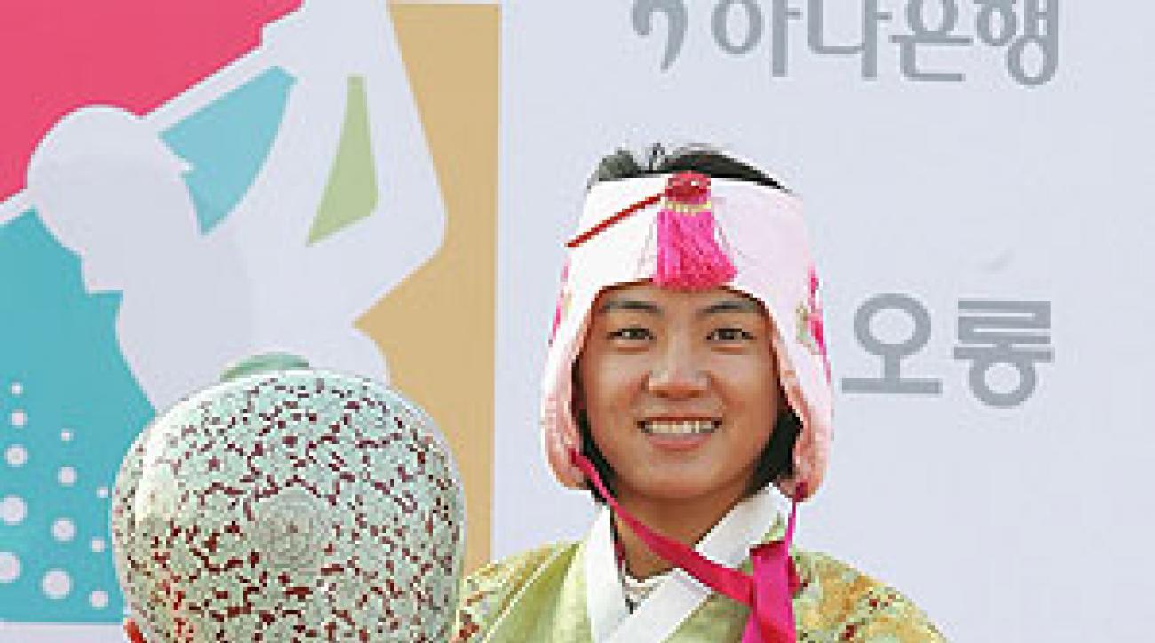 Na-Yeon Choi shot 67 in the final round.