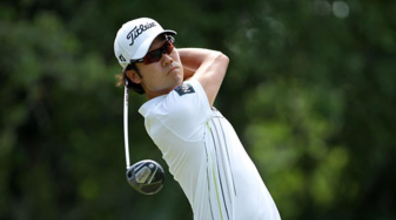 Kevin Na made four birdies and no bogeys.