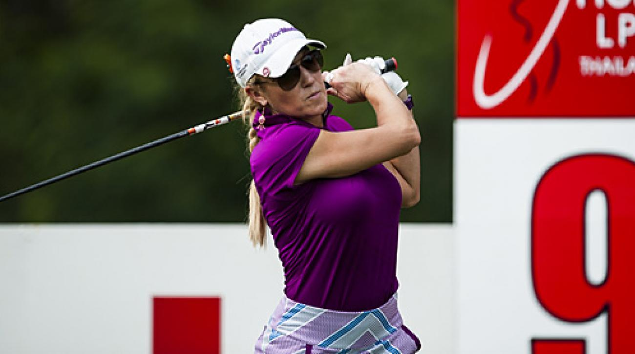 Natalie Gulbis is expected to be at full strength in three weeks.