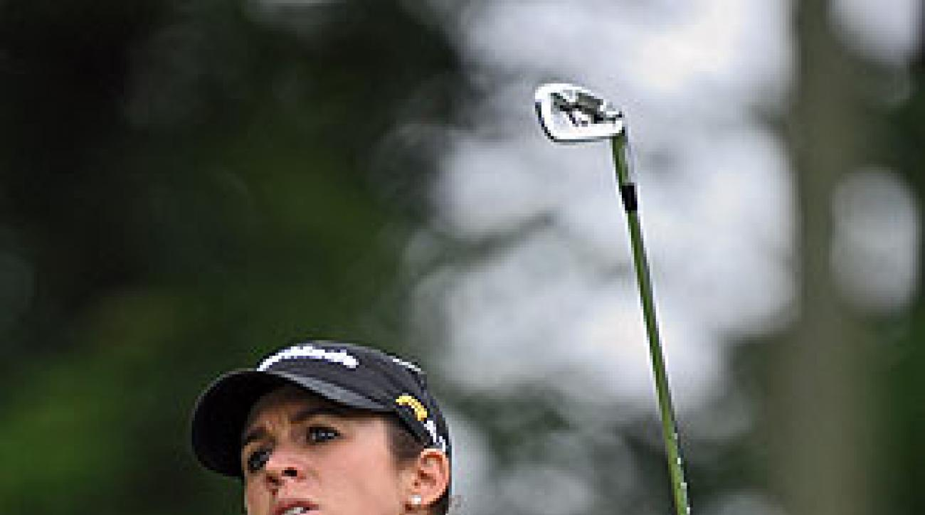 Nicole Castrale shot a seven-under 65.