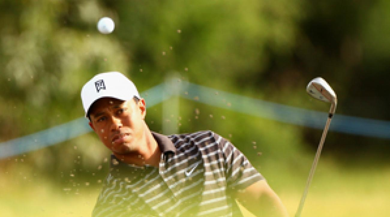 Tiger Woods is the defending champion this week at the Australian Masters.