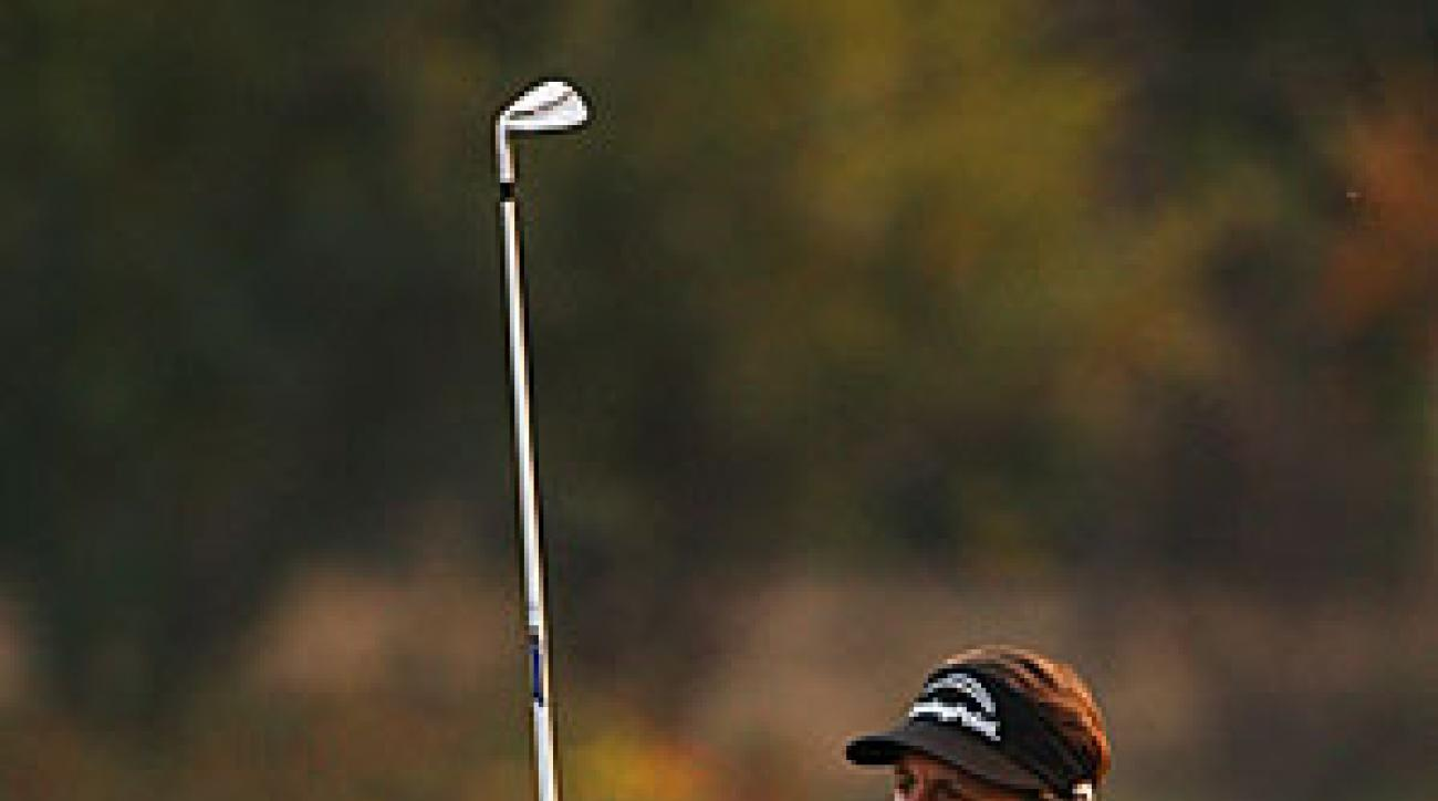 Phil Mickelson, who finished 16 shots off the lead in Singapore last week, escaped with the win in Shanghai.