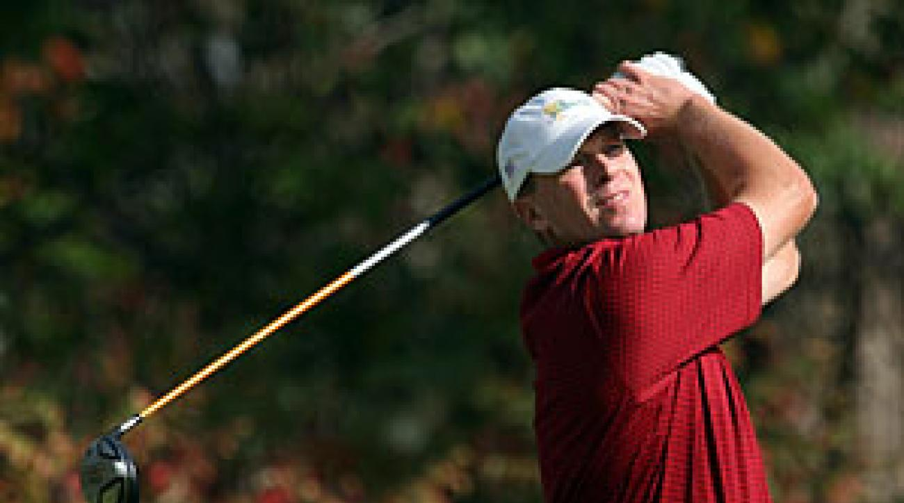 Steve Stricker won The Barclays in 2007 for his first victory in more than six years.