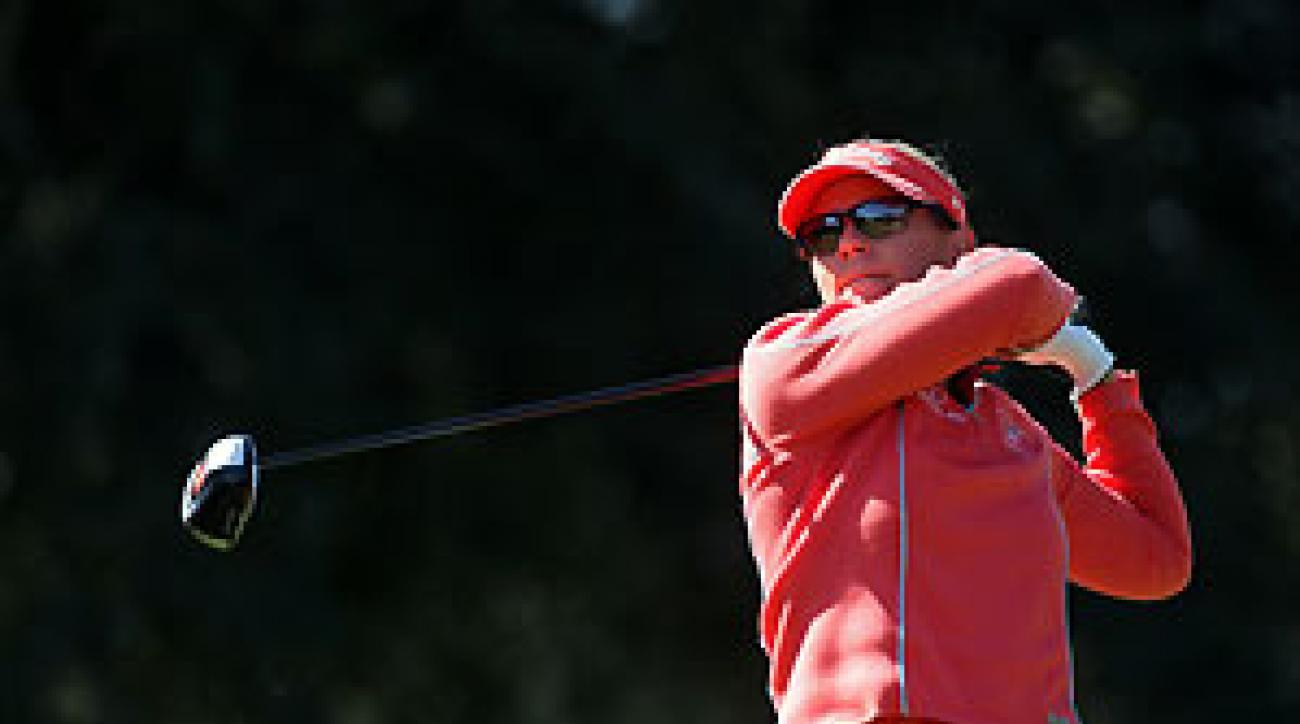 Annika Sorenstam missed two months with injuries.