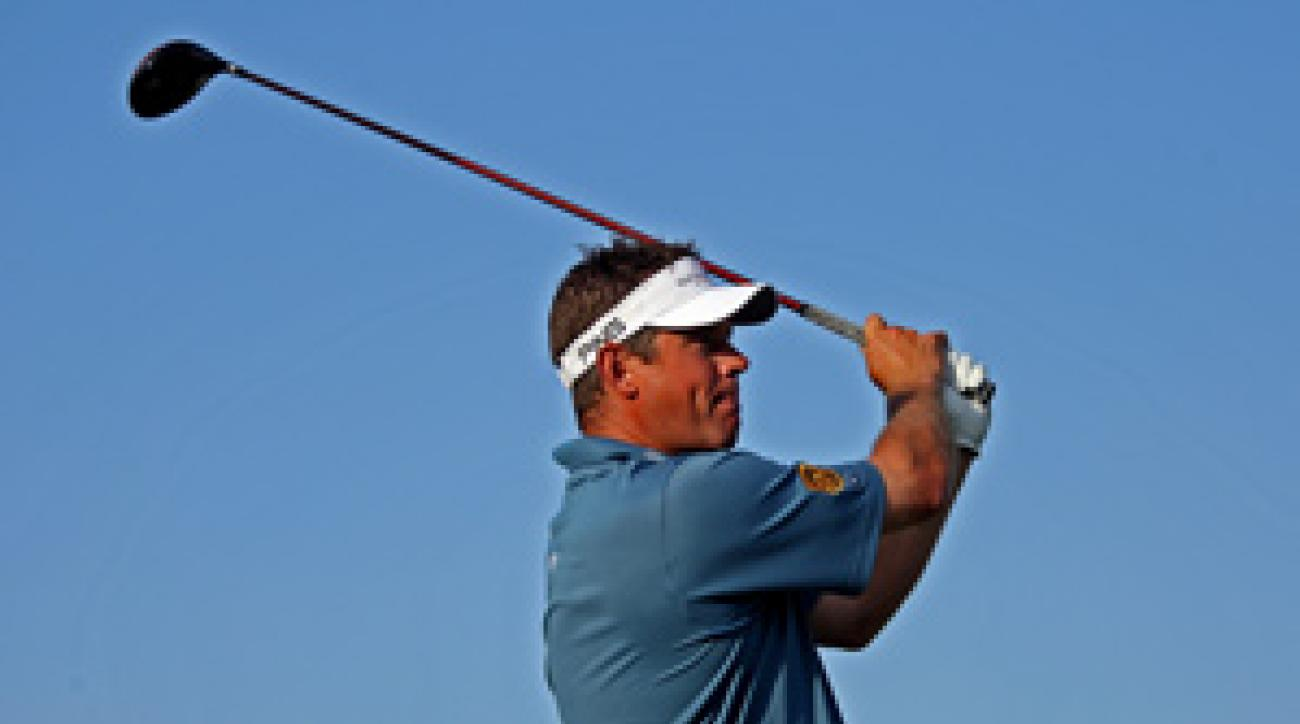 Lee Westwood shot a bogey-free 66 on Saturday.